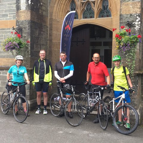 Bristol Headmistress leads team to complete 367-mile cycle across the UK for The SpringBoard Bursary Foundation