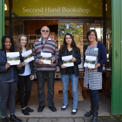 Badminton School pupils produce and donate photobook for the National Trust at Tyntesfield