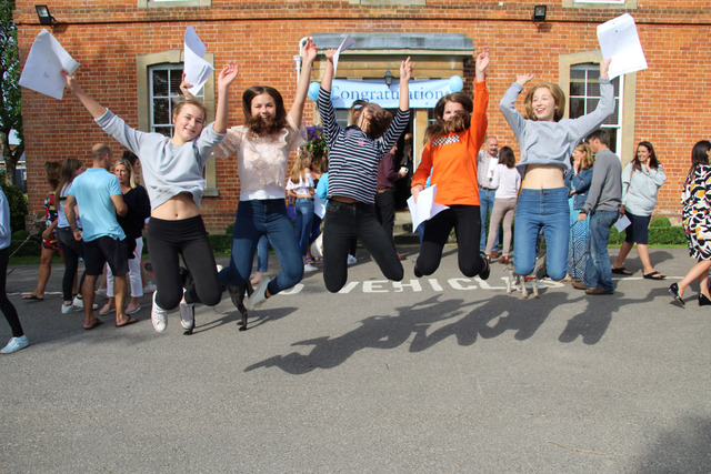 Pupils praised as GCSE results are released