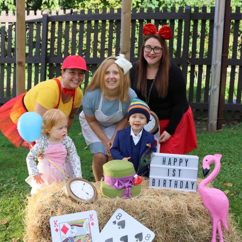 Grace Dieu 1st Birthday Nursery Celebrations