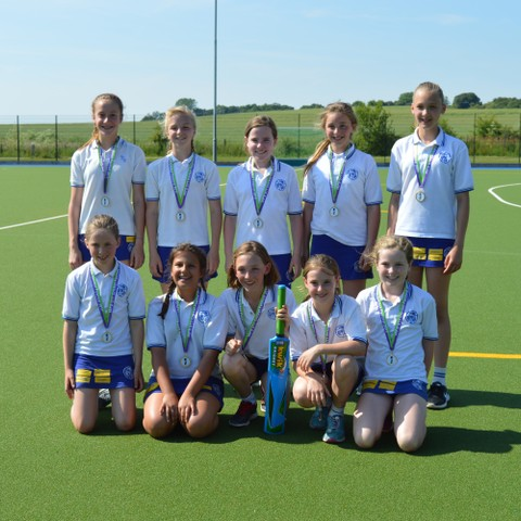 U11 Girls' Kwik Cricket Winners Derwent Lodge
