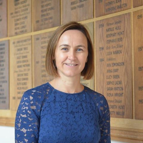 Oona Carlin, Head of Ipswich High School