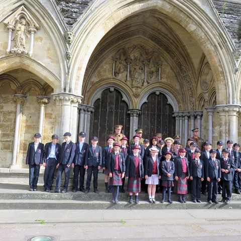Year 6 at Stunning Salisbury Cathedral