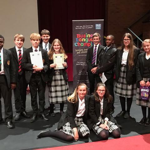 Oakham's Business Language Champions