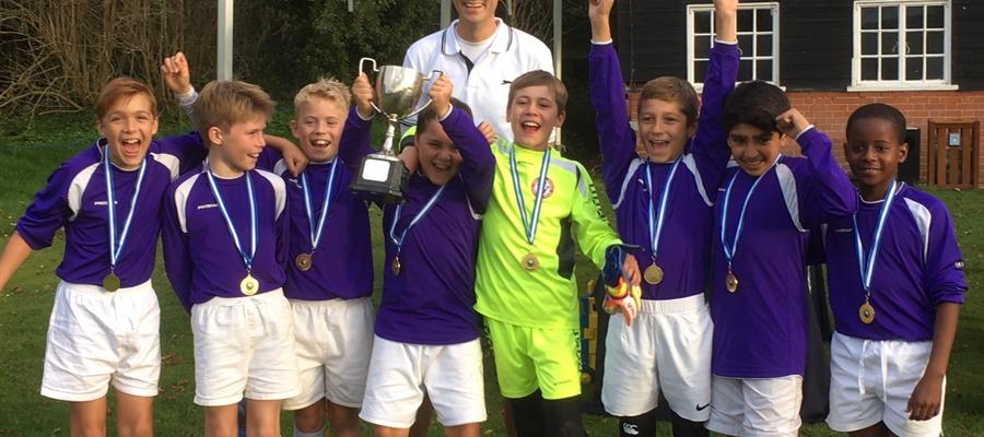 Bradfield Tournament winners U11