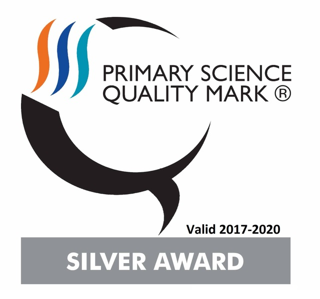 Silver Award Primary Science Quality Mark