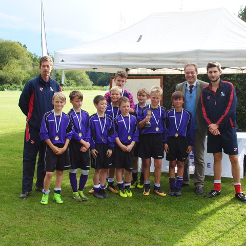 U13 First XI team winners of the Parkside 7s tournament