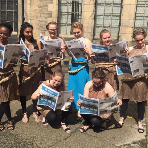 PHS girls at Edinburgh Fringe