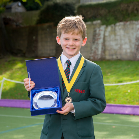 Jonty wins gold in the 1m Sussex diving competition
