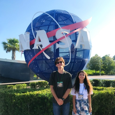 Kozma and Parmis at NASA