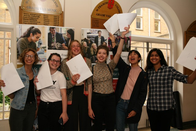 St Francis' College – Celebrating A-Level Success