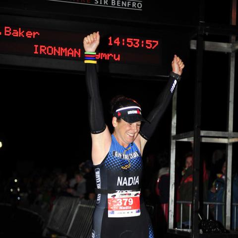 Nadia Baker Ironman