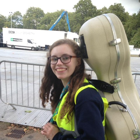 Kelsie @ proms in park