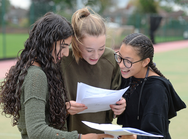 An 'excellent set of GCSE results' from Barry Comprehensive School