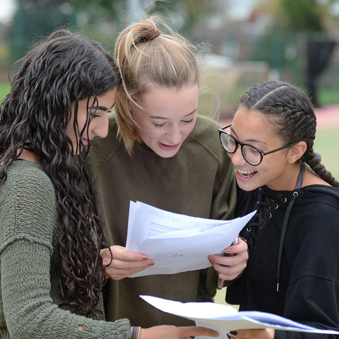 Withington Girls enjoy their success